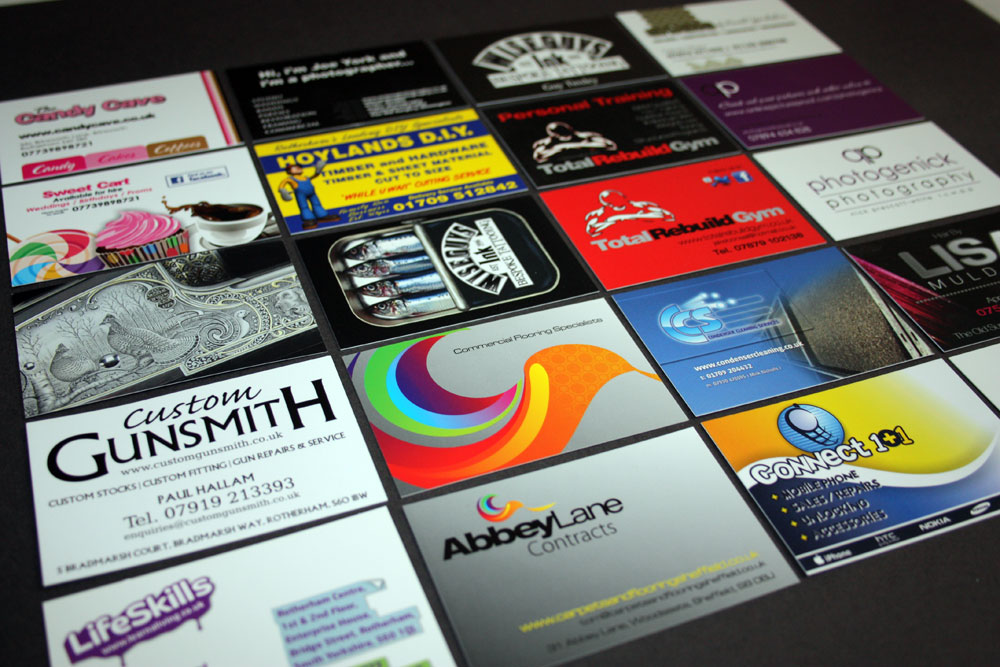 3000 Pemium business cards from only £120