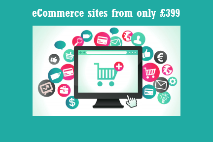 ecommerce webdesign from only £399 NW6