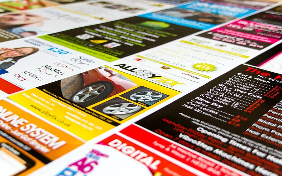5000 A6 Leaflets designed & printed from only £150 Kilburn
